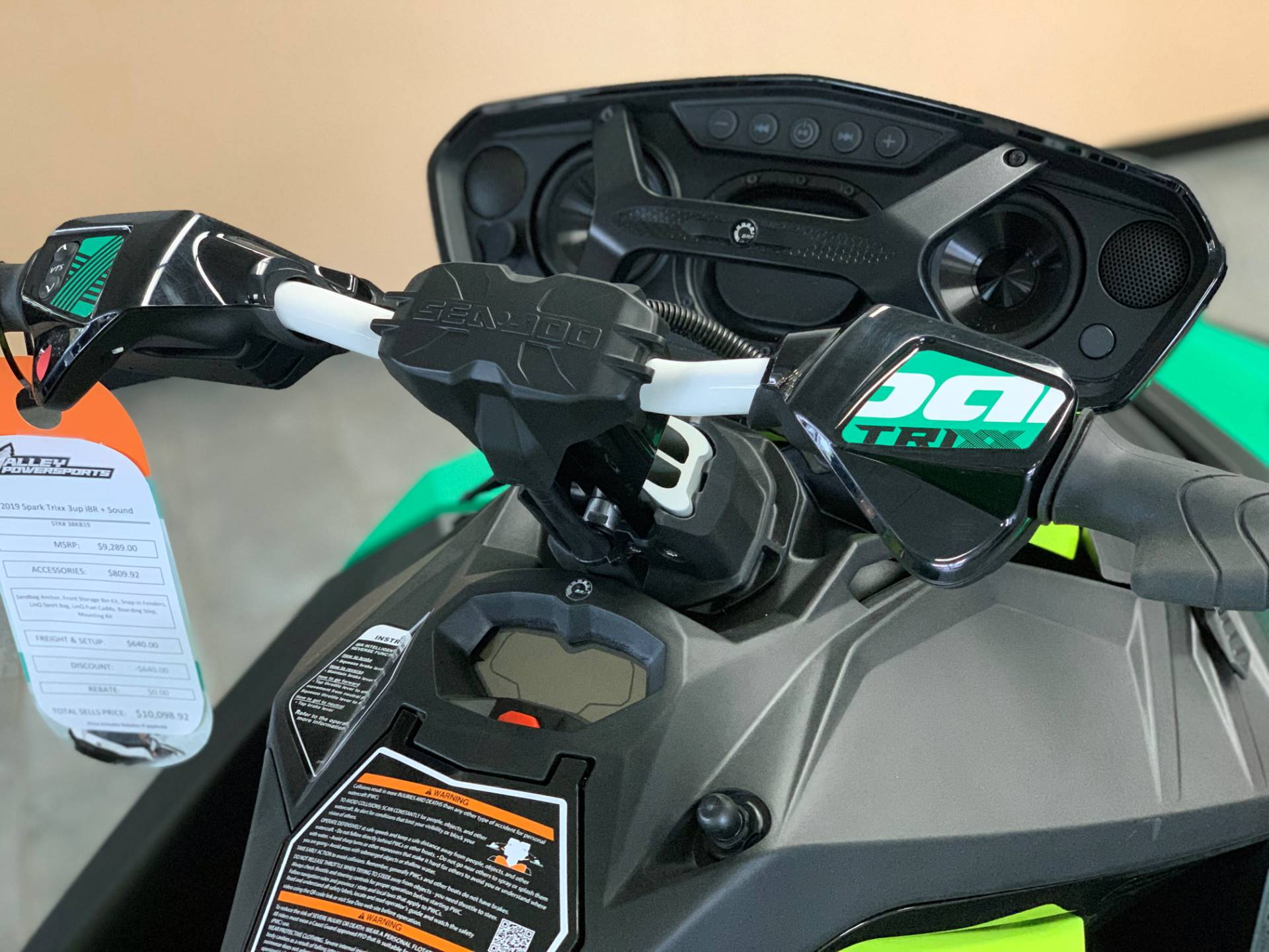 2019 Sea-Doo Spark Trixx 3up iBR + Sound System in Eugene, Oregon - Photo 8
