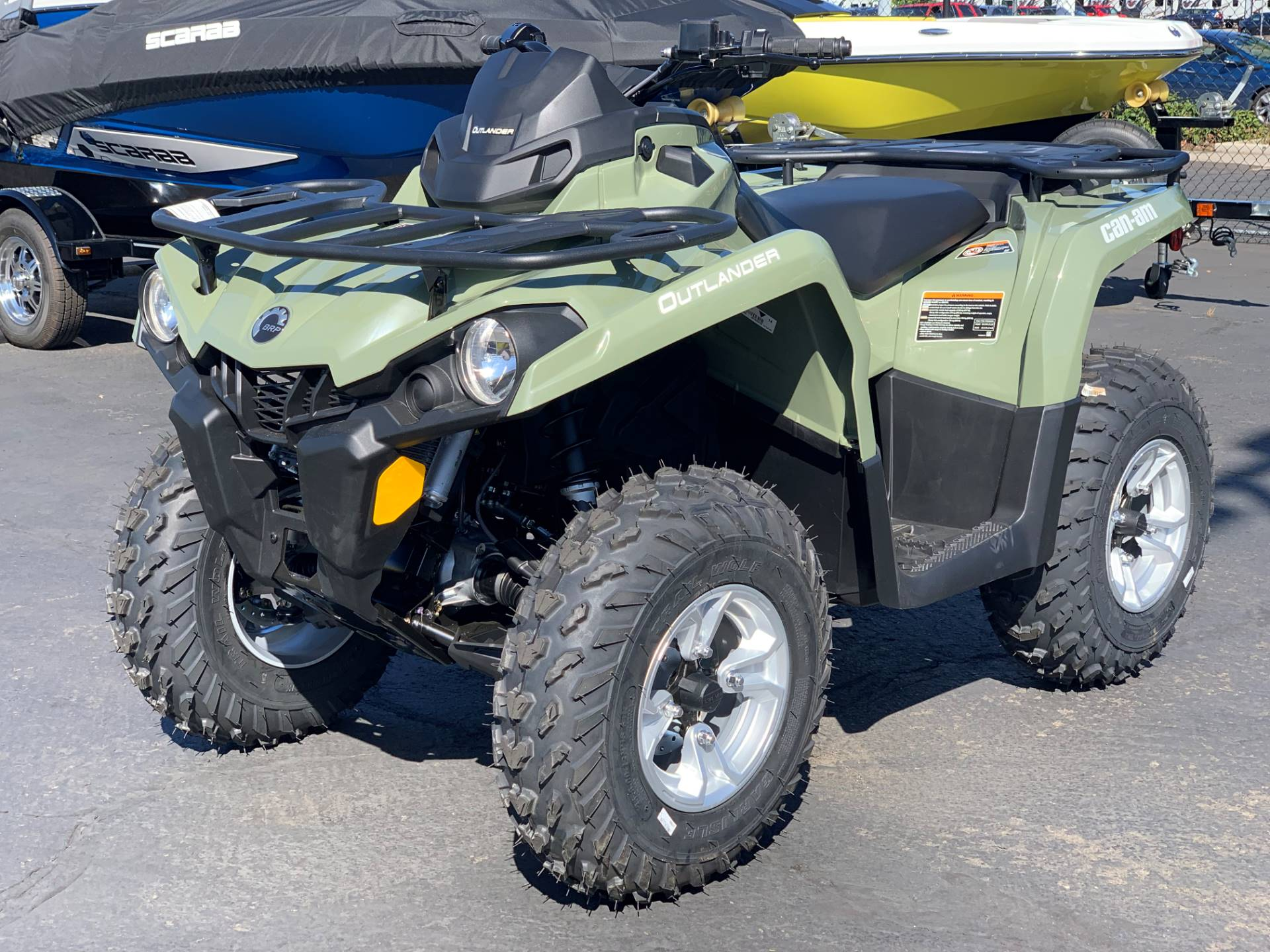 2019 Can-Am Outlander DPS 450 in Eugene, Oregon - Photo 3