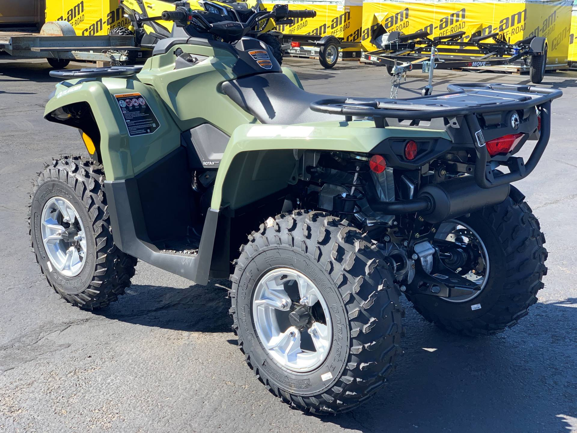2019 Can-Am Outlander DPS 450 in Eugene, Oregon - Photo 5