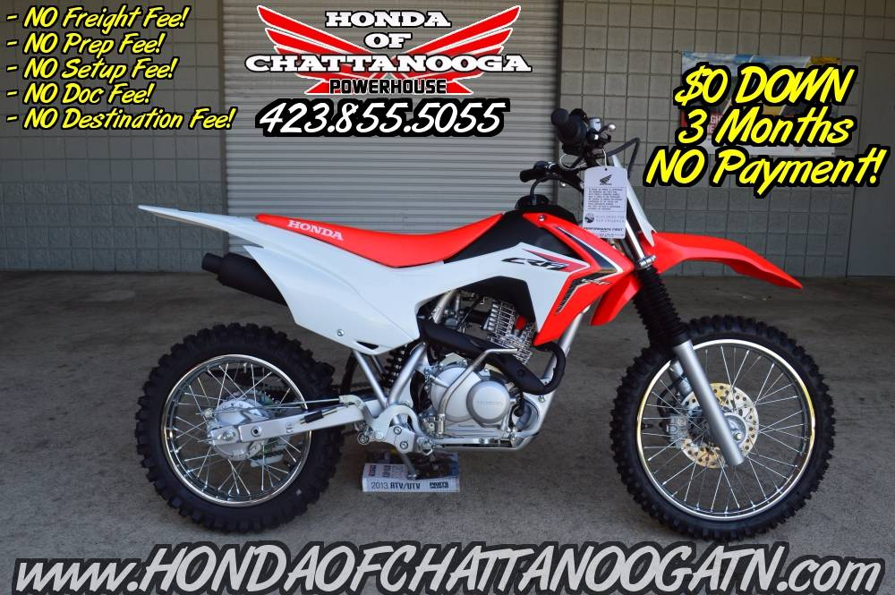 2018 Honda CRF125F in Chattanooga, Tennessee - Photo 1