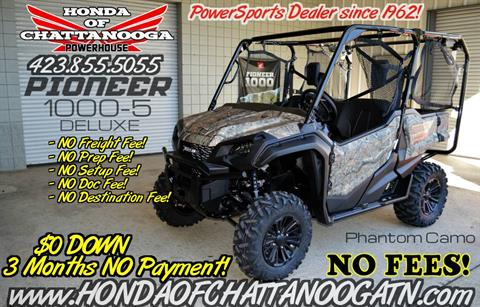 2017 Honda Pioneer 1000-5 Deluxe in Chattanooga, Tennessee