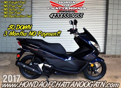 2017 Honda PCX150 in Chattanooga, Tennessee