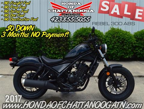 2017 Honda Rebel 300 ABS in Chattanooga, Tennessee - Photo 1