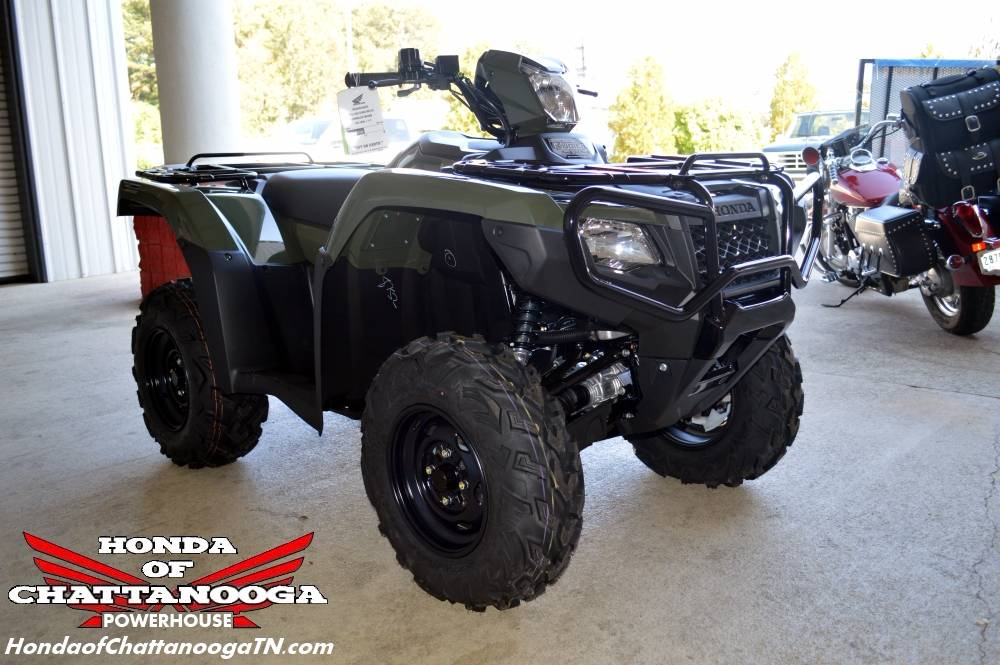 2017 Honda FourTrax Foreman Rubicon 4x4 DCT in Chattanooga, Tennessee - Photo 15