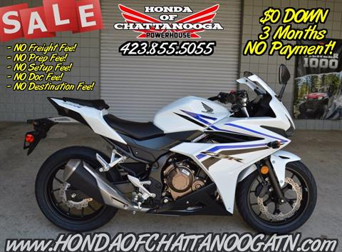 2016 Honda CBR500R ABS in Chattanooga, Tennessee
