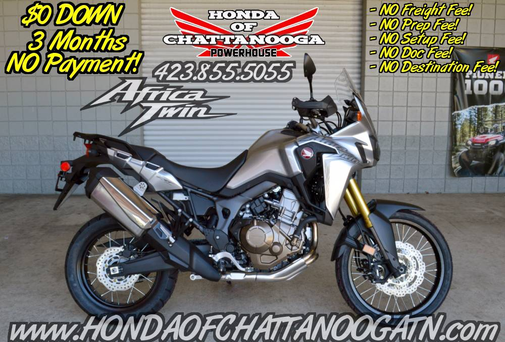 2016 Honda Africa Twin DCT in Chattanooga, Tennessee