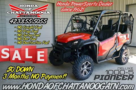 2018 Honda Pioneer 1000-5 Deluxe in Chattanooga, Tennessee - Photo 1