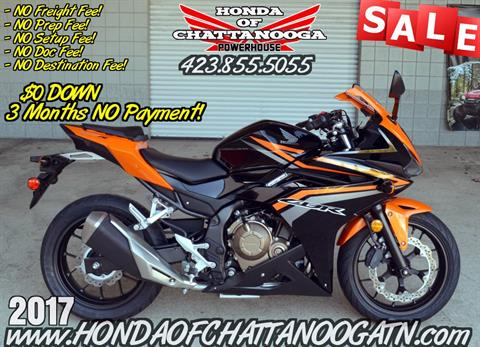 2017 Honda CBR500R in Chattanooga, Tennessee