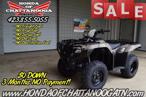 2016 Honda FourTrax Foreman 4x4 ES Camo in Chattanooga, Tennessee