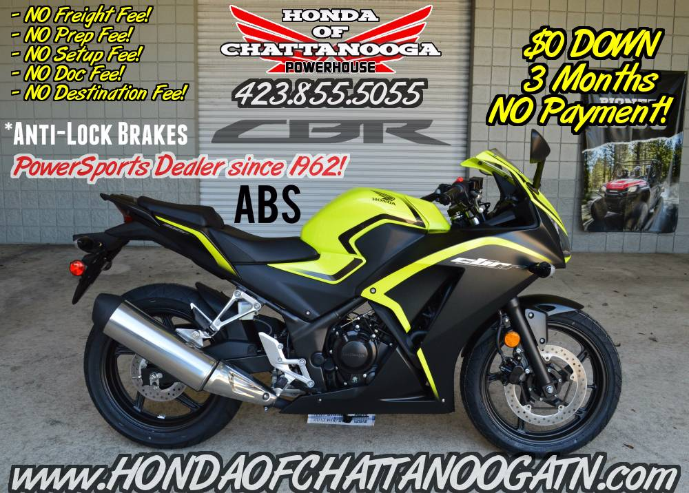 2016 Honda CBR300R ABS in Chattanooga, Tennessee
