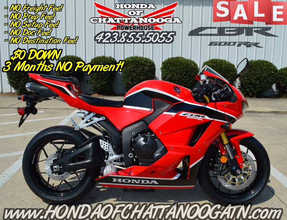 2017 Honda CBR600RR in Chattanooga, Tennessee