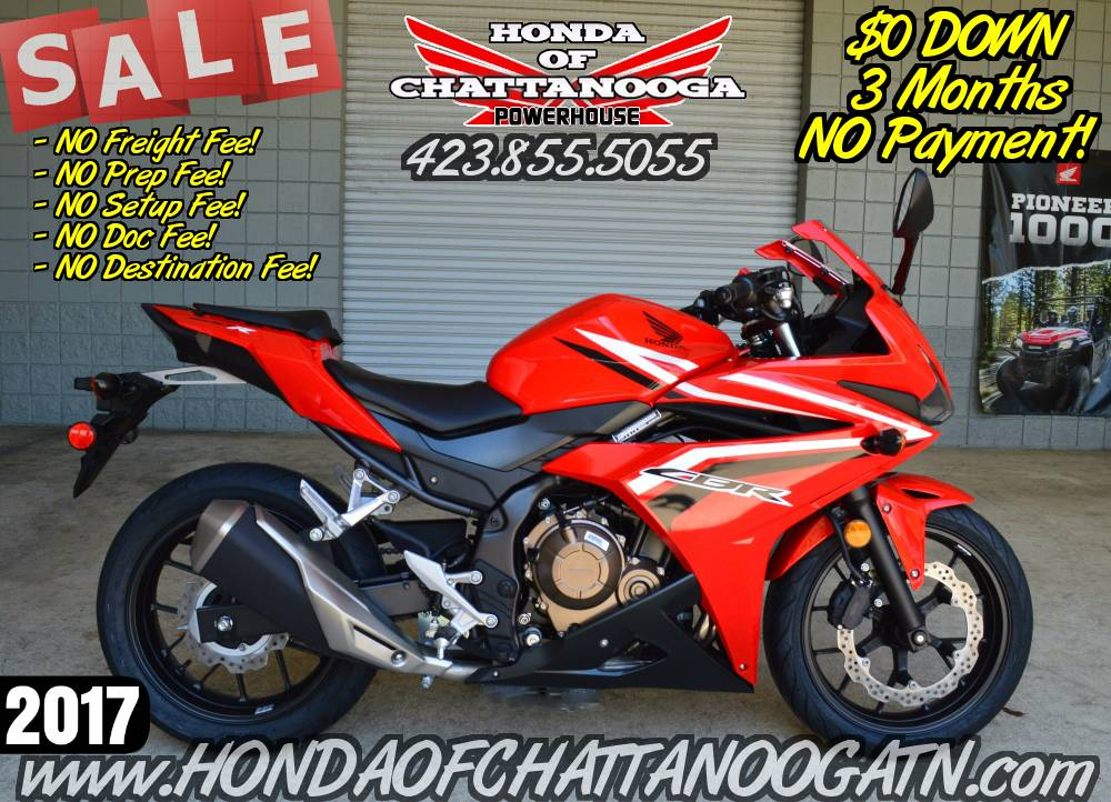 2017 Honda CBR500R in Chattanooga, Tennessee - Photo 1