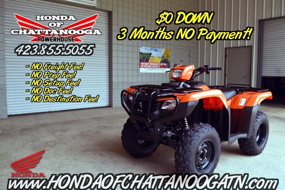2016 Honda Foreman 50 ES For Sale TN GA AL Chattanooga ATV PowerSports Dealer