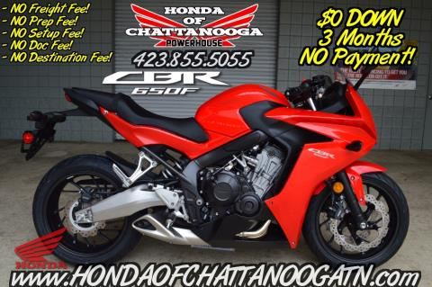 2015 Honda CBR®650F in Chattanooga, Tennessee
