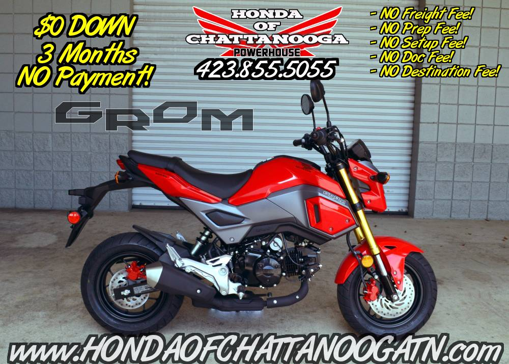 2018 Honda Grom Motorcycles Chattanooga Tennessee N/A