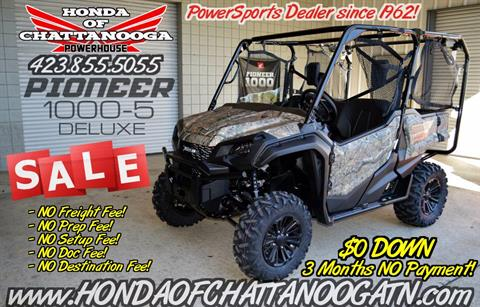 2018 Honda Pioneer 1000-5 Deluxe in Chattanooga, Tennessee