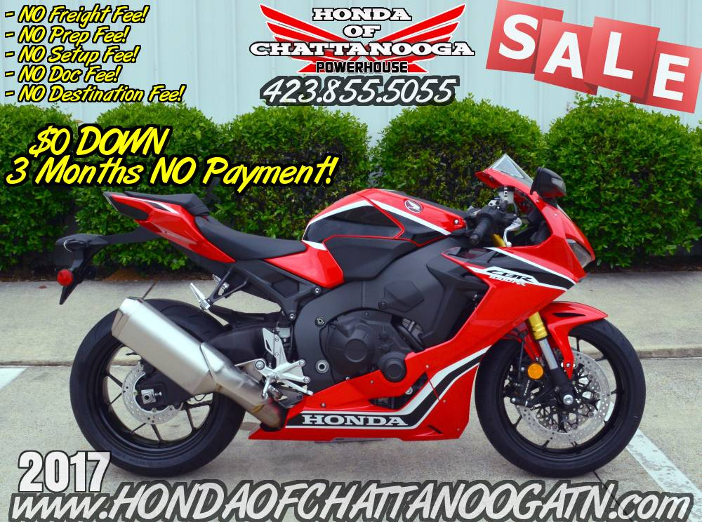 2017 Honda CBR1000RR in Chattanooga, Tennessee - Photo 1