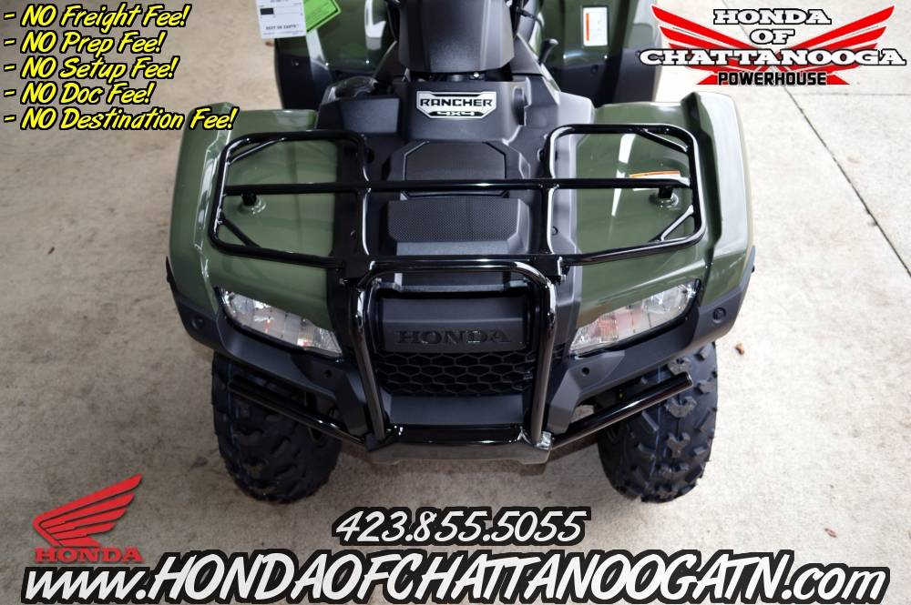 2017 Honda FourTrax Rancher 4x4 ES in Chattanooga, Tennessee