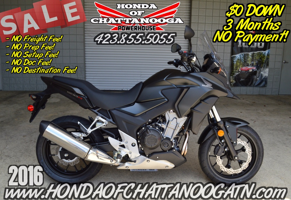 2016 Honda CB500X in Chattanooga, Tennessee