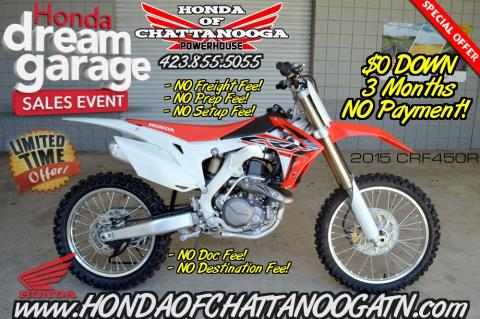 2015 CRF450R For Sale TN GA AL Chattanooga Dirt Bikes