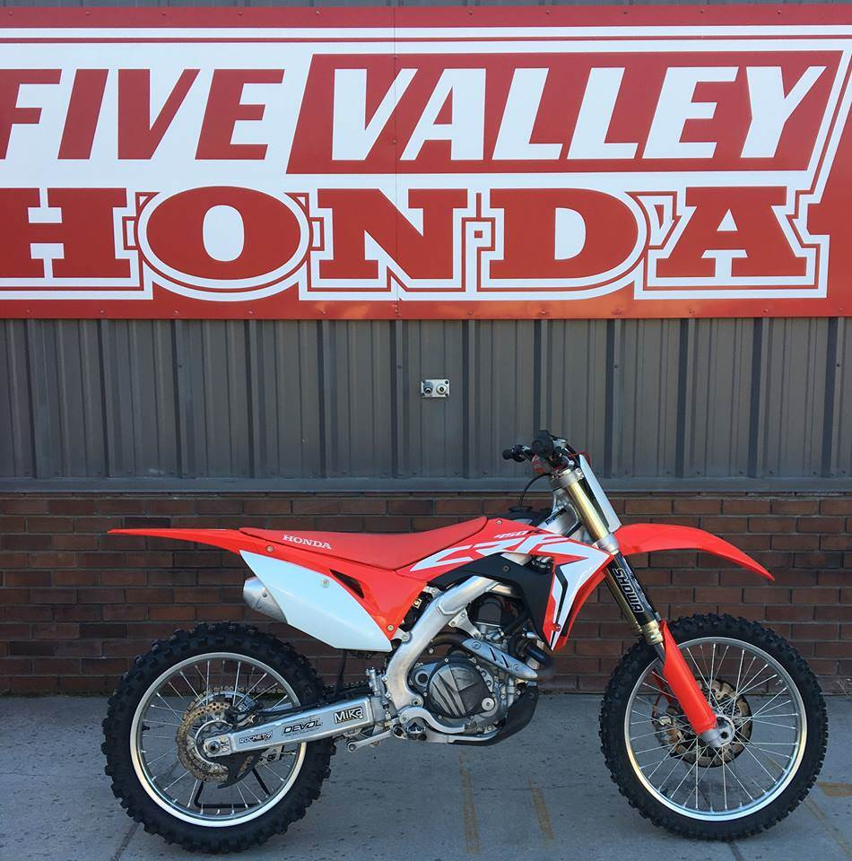 2018 Honda CRF450R - Photo 1