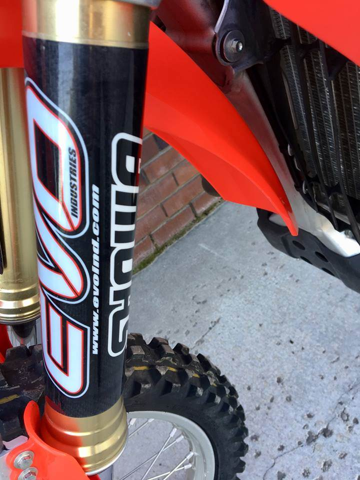 2018 Honda CRF450R w/ EVO Industries revalved suspension - Photo 6