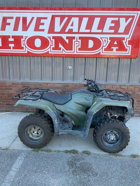 2014 Honda TRX420FM2 / Rancher 4x4 w/ Manual Shift - Photo 1