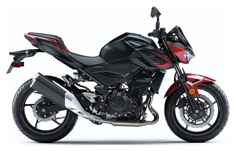 2021 Kawasaki Z400 ABS in Vallejo, California - Photo 1