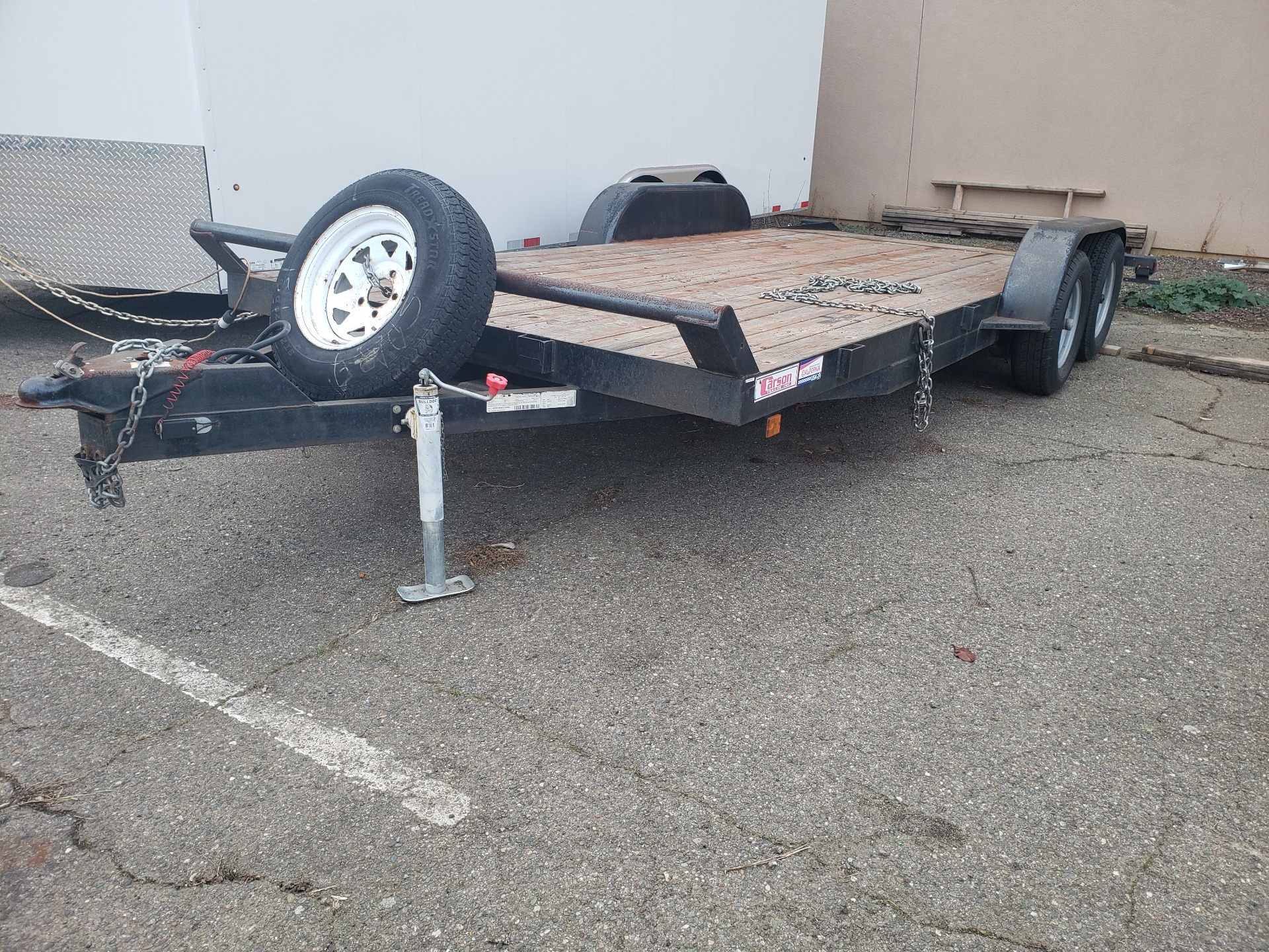 2016 Carson Trailer 076SC18-4 in Vallejo, California - Photo 1