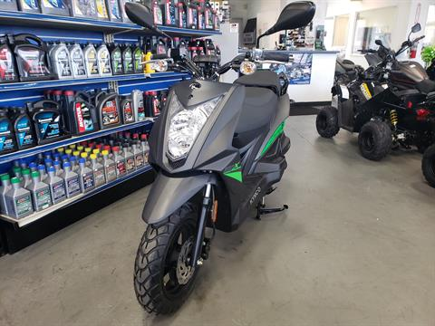 2021 Kymco Super 8 150X in Vallejo, California - Photo 1