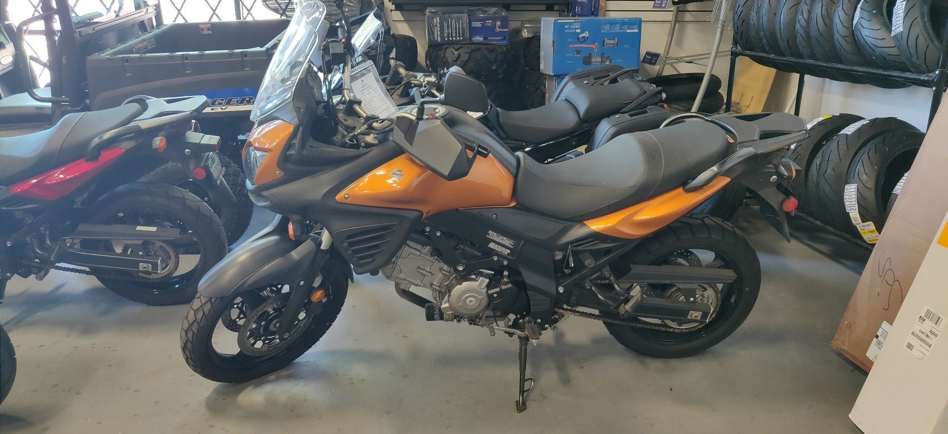 2012 Suzuki V-Strom 650 ABS in Vallejo, California - Photo 1