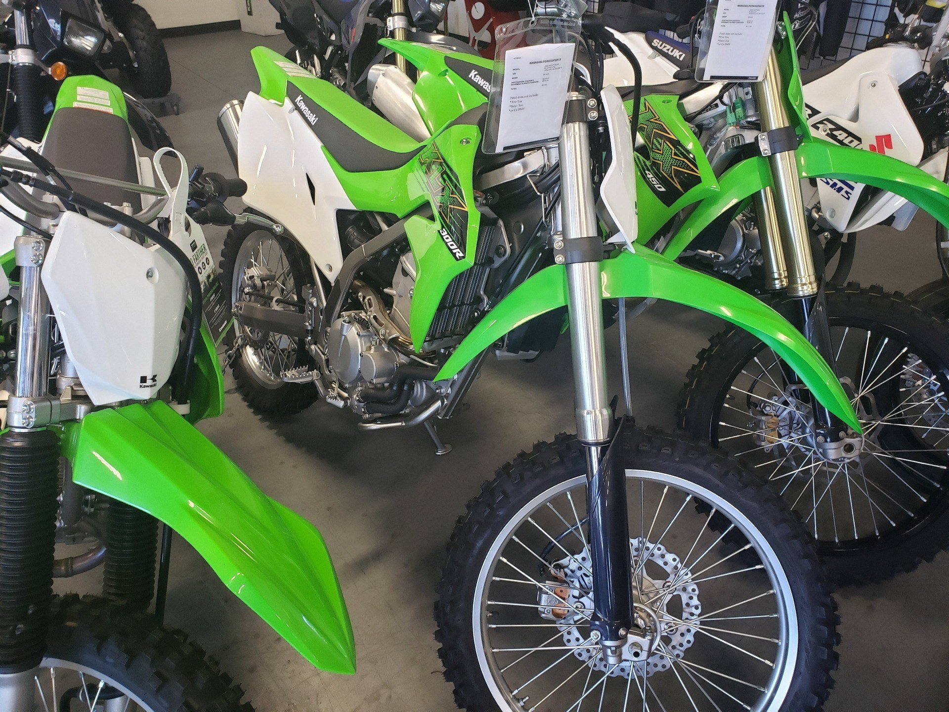 2020 Kawasaki KLX 300R in Vallejo, California - Photo 1