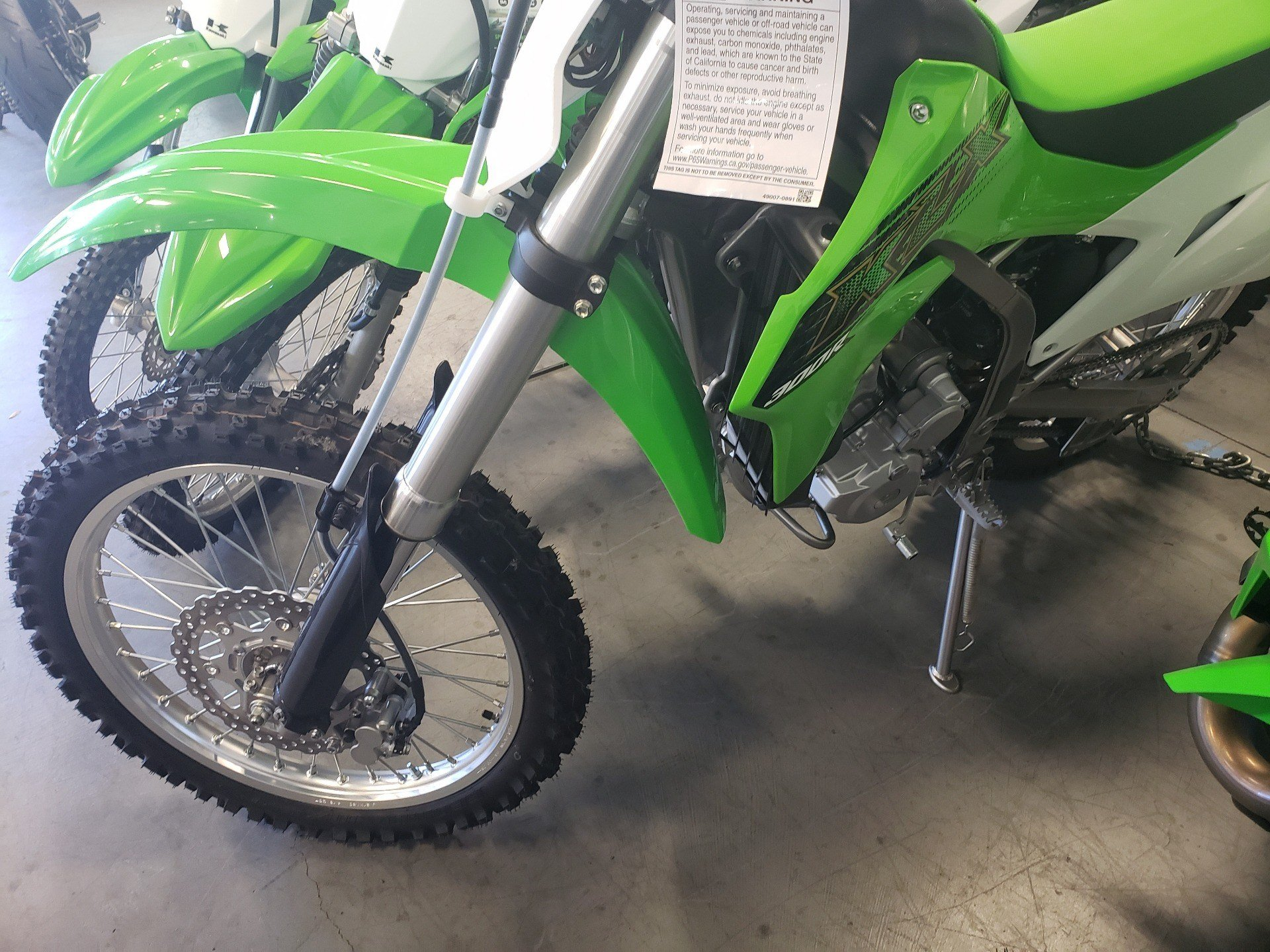 2020 Kawasaki KLX 300R in Vallejo, California - Photo 3