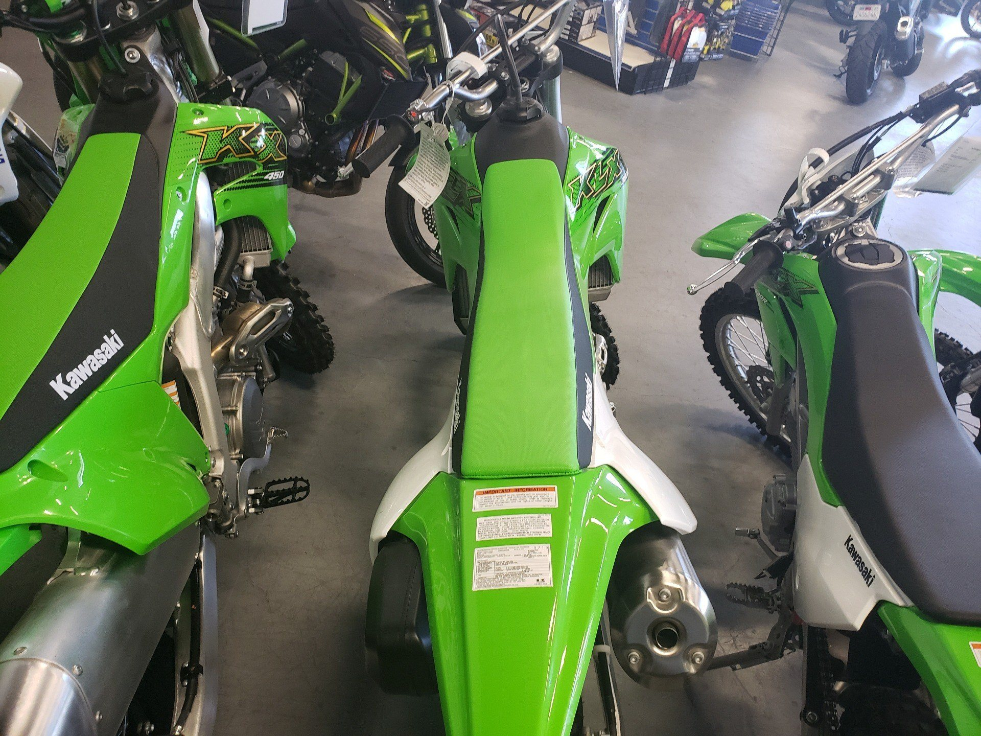 2020 Kawasaki KLX 300R in Vallejo, California - Photo 4