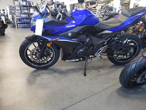 2020 Suzuki GSX250R ABS in Vallejo, California - Photo 1