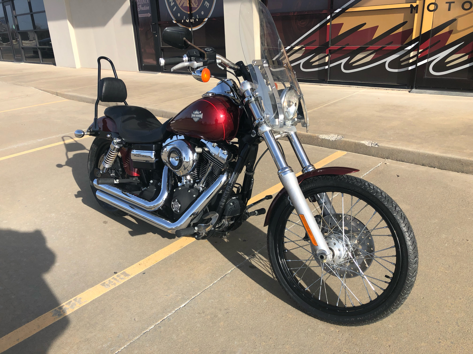 2010 Harley Davidson Dyna Wide Glide Motorcycles Norman Oklahoma 317269