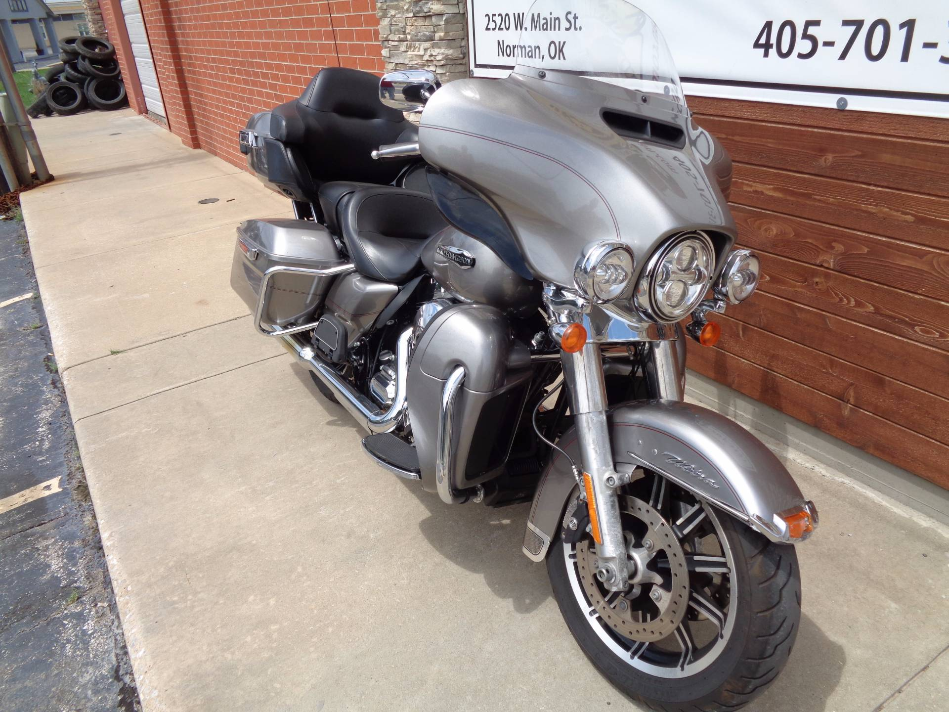 2016 Harley-Davidson Electra Glide® Ultra Classic® in Norman, Oklahoma
