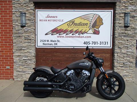 2018 Indian Scout® Bobber in Norman, Oklahoma