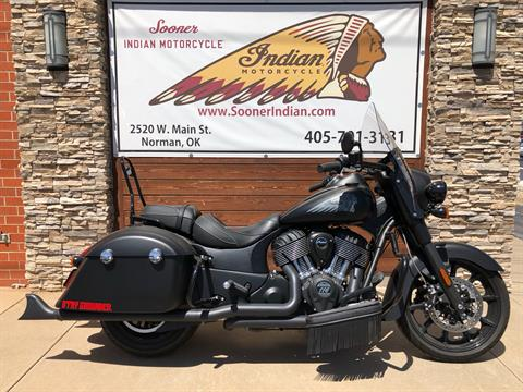2018 Indian SPRINGFIELD DARK HORSE in Norman, Oklahoma