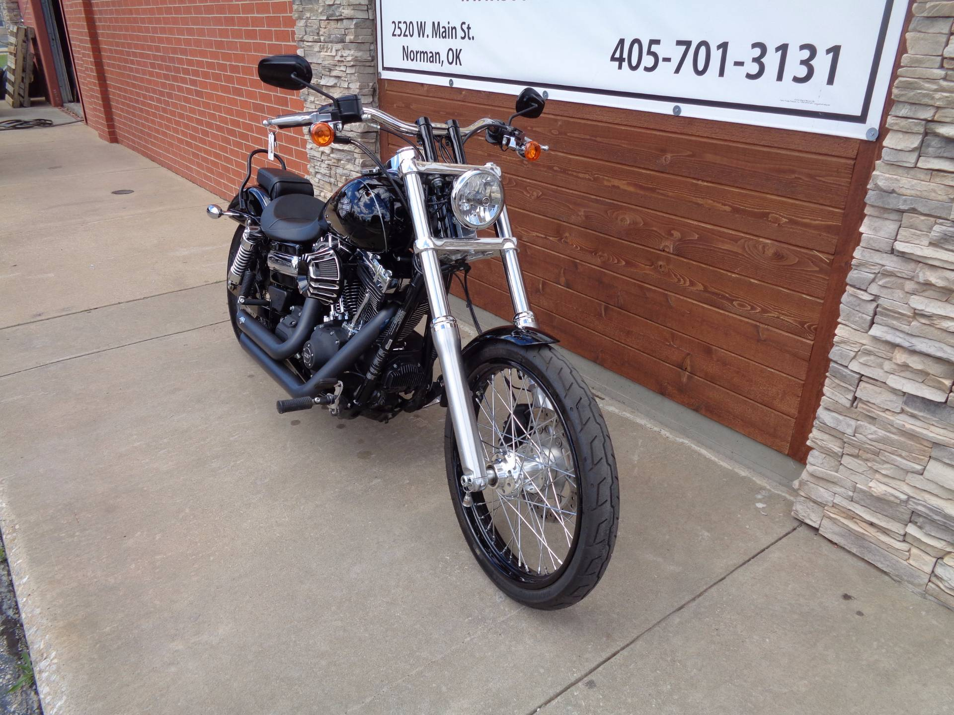 2015 Harley-Davidson Wide Glide® in Norman, Oklahoma