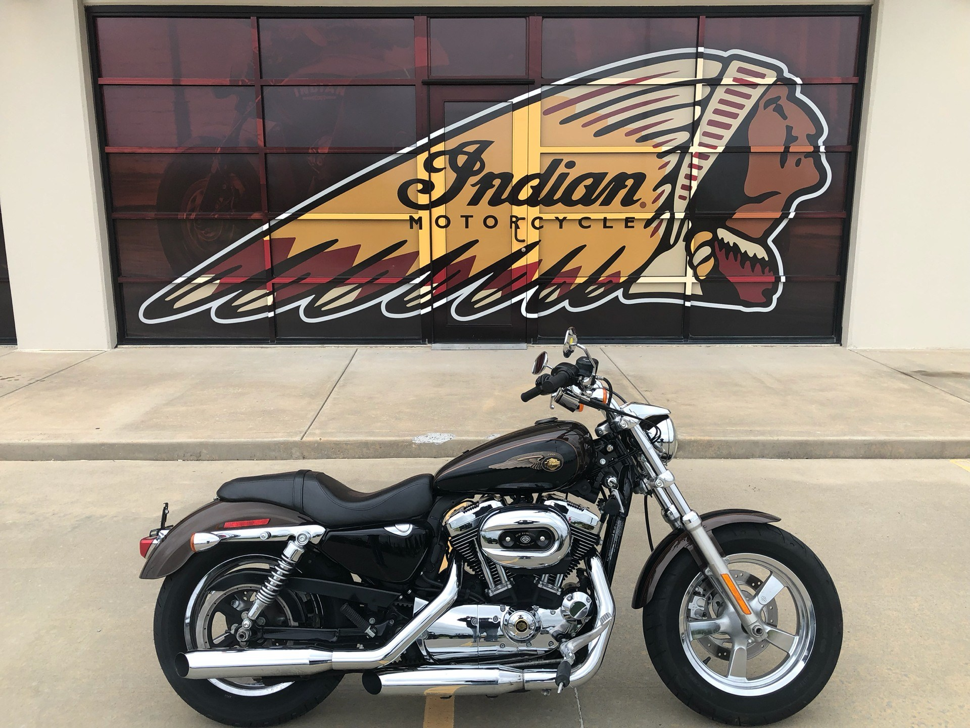 2013 Harley-Davidson Sportster® 1200 Custom 110th Anniversary Edition in Norman, Oklahoma - Photo 1