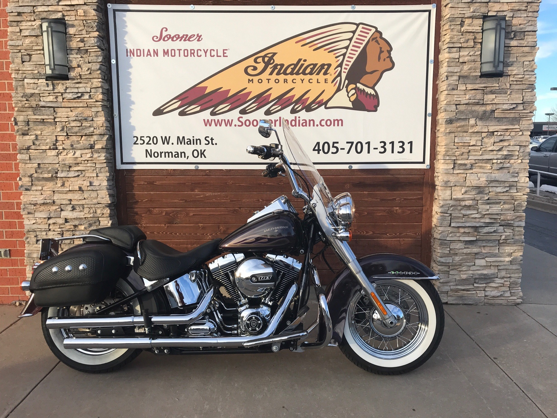 2017 Harley-Davidson Softail® Deluxe in Norman, Oklahoma