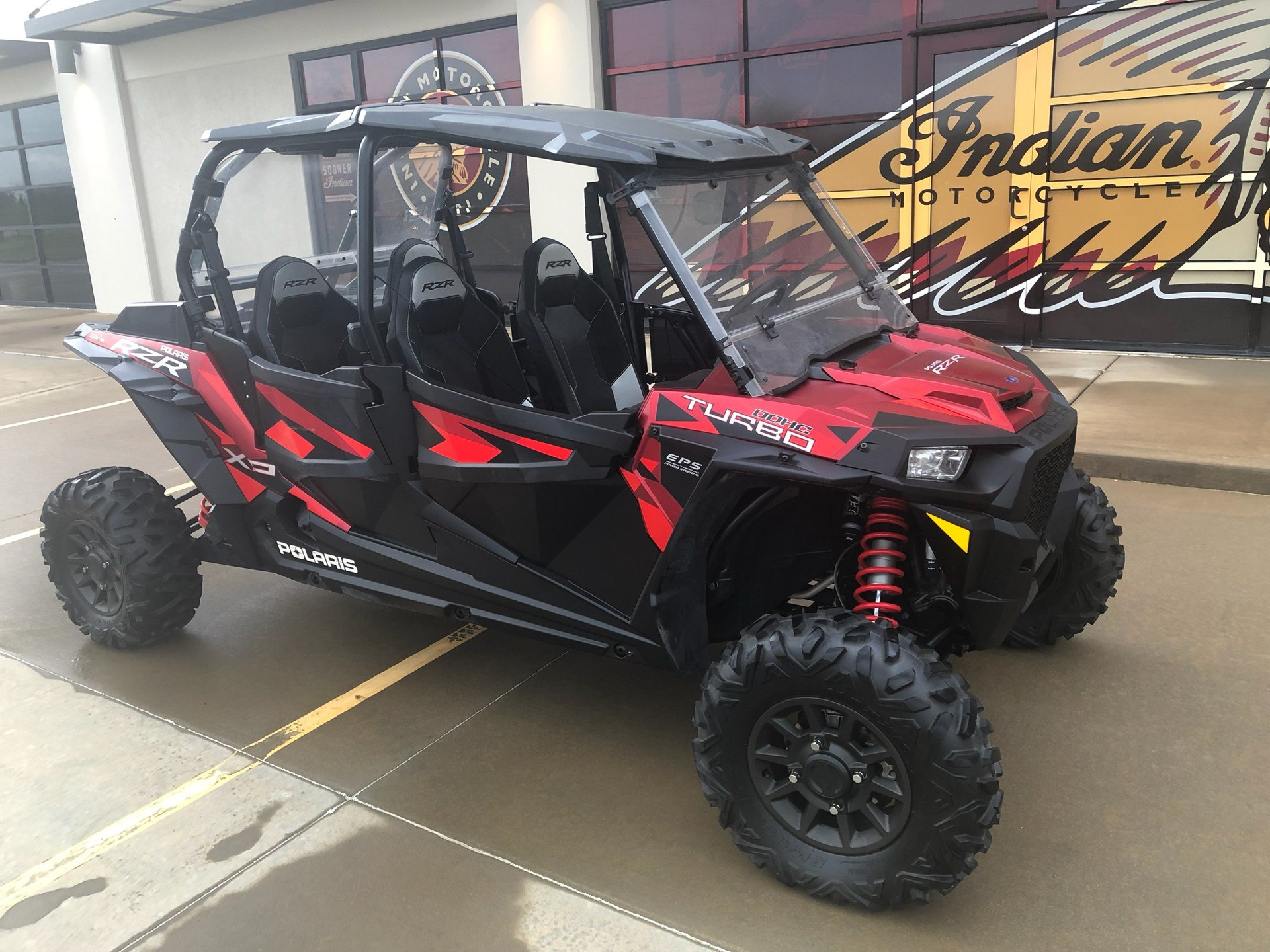 2018 Polaris RZR XP 4 Turbo EPS Fox Edition in Norman, Oklahoma - Photo 2
