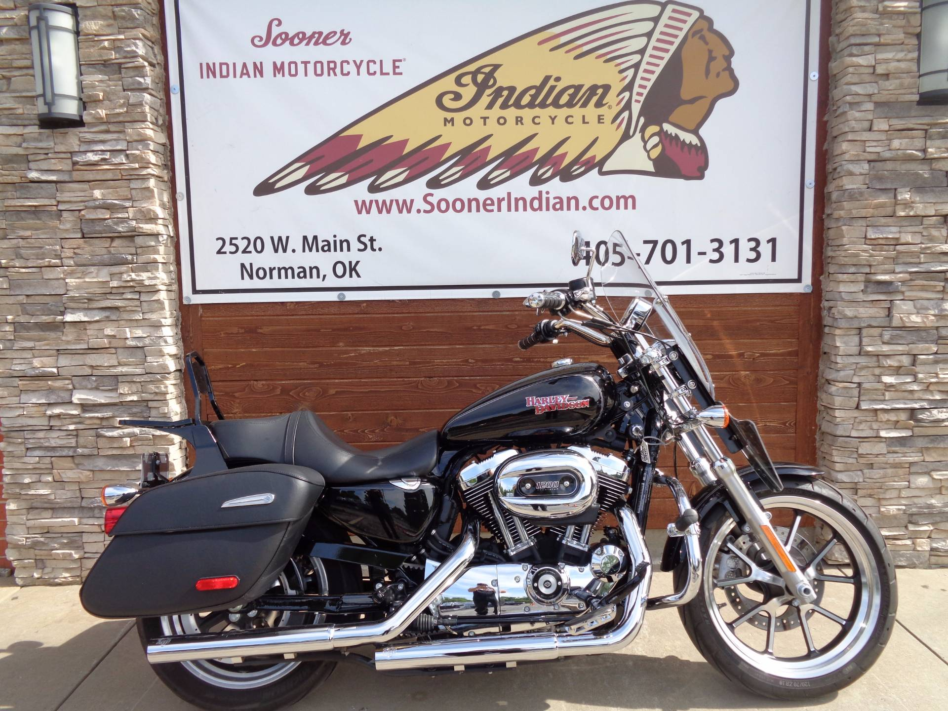 2014 Harley-Davidson SuperLow® 1200T in Norman, Oklahoma