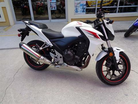 2014 Honda CB500F in Jacksonville, Florida