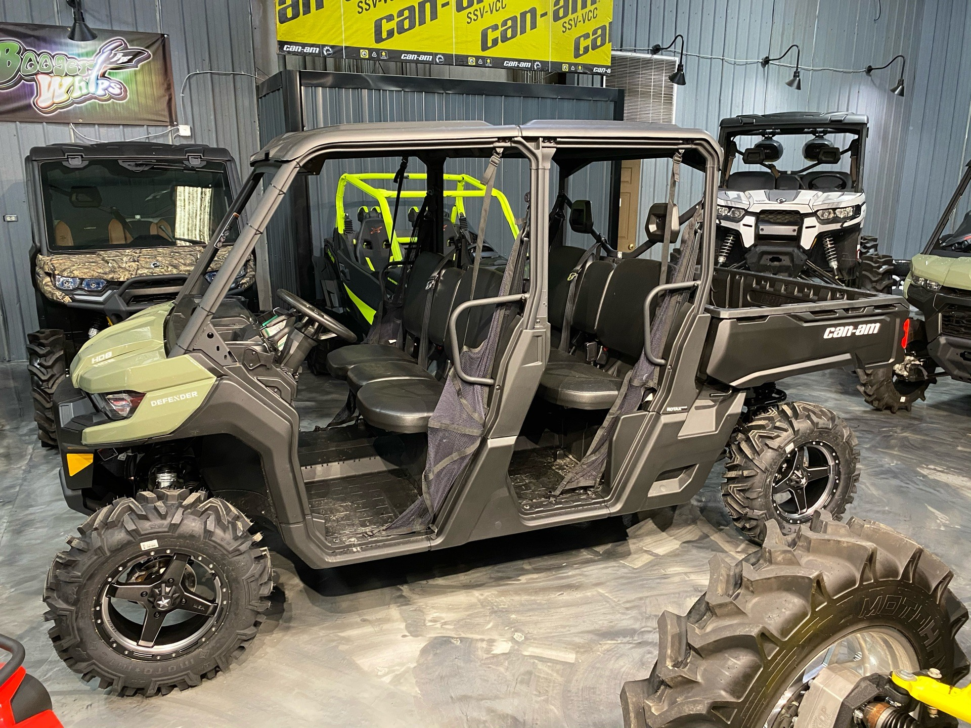 2021 Can-Am Defender MAX DPS HD8 in Douglas, Georgia - Photo 1