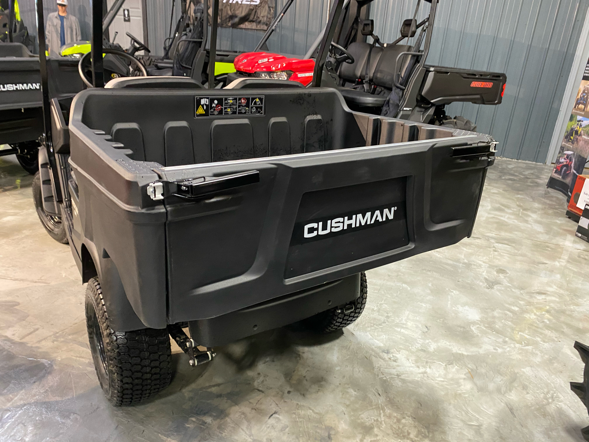 2021 Cushman Hauler 800X EFI Gas in Douglas, Georgia - Photo 6