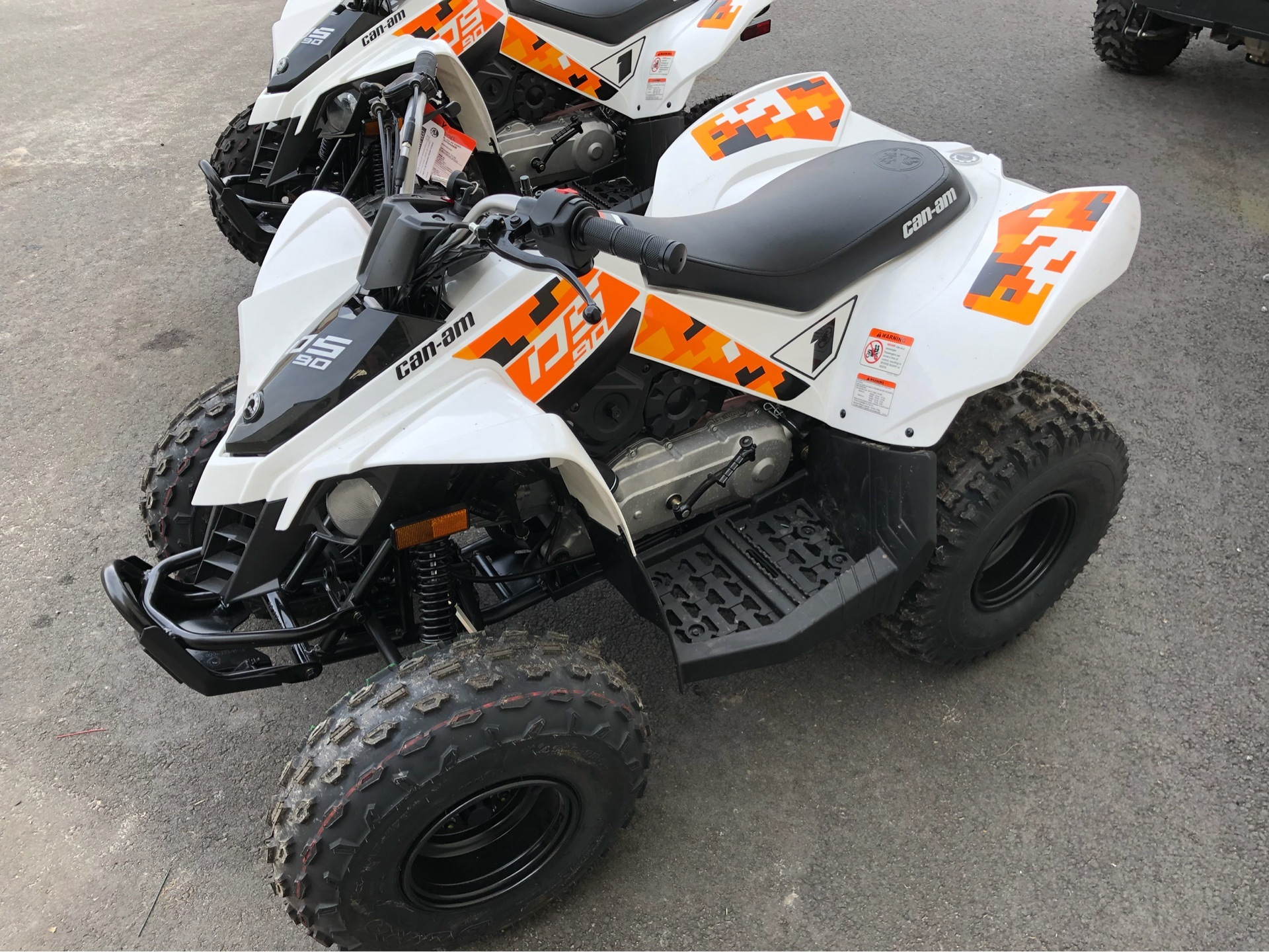 2019 Can-Am DS 90 in Douglas, Georgia - Photo 5