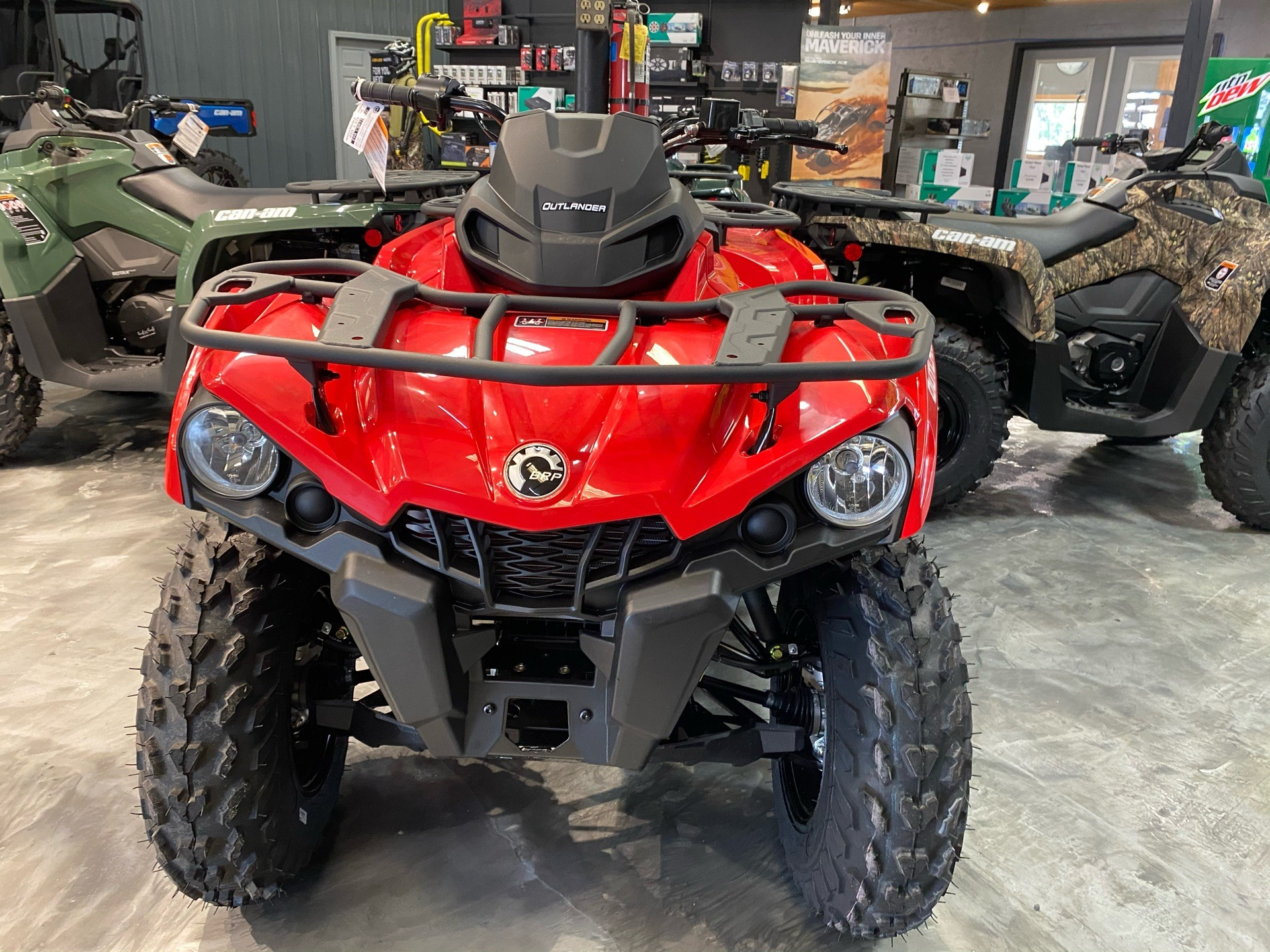 2021 Can-Am Outlander 450 in Douglas, Georgia - Photo 2