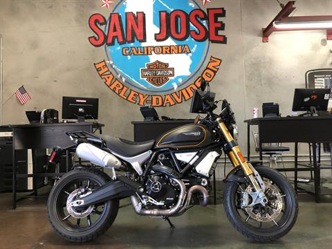 2018 Ducati Scrambler 1100 Sport in San Jose, California - Photo 1